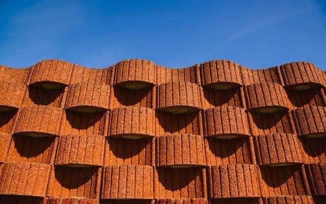 Concrete Planter retaining wall