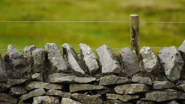 Mixed Stone retaining wall